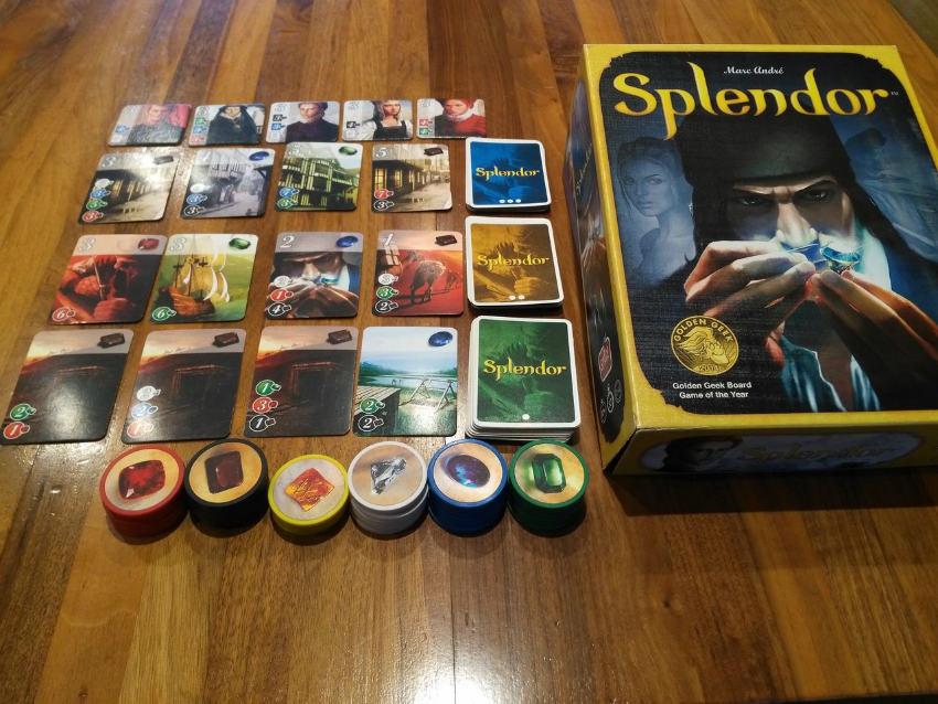 بازی رومیزی Splendor