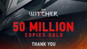 فروش سری ویچر از ۵۰ میلیون نسخه عبور کرد