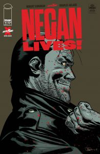 کاور شماره ۱ کمیک Negan Lives (برای دیدن سایز کامل روی تصویر کلیک کنید)