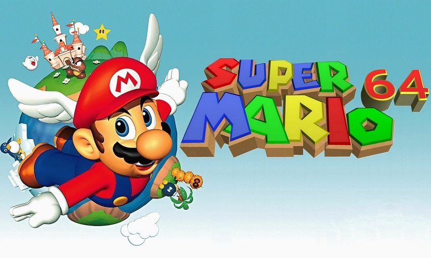 بازی Super Mario 64