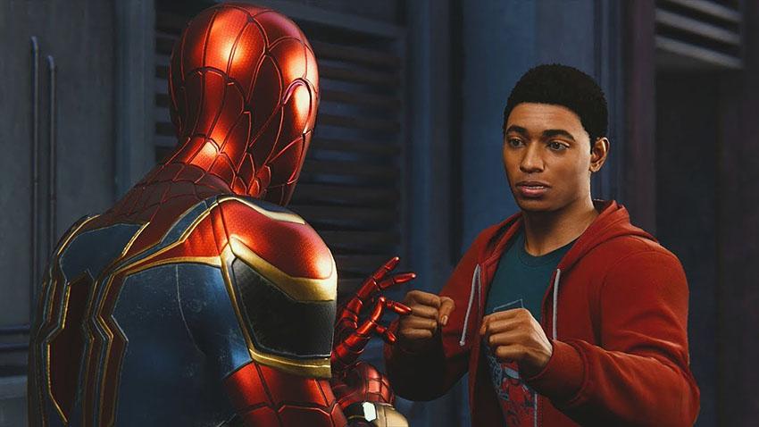 اولین ملاقات رسمی مایلز مورالز و اسپایدرمن در عنوان Marvel's Spider-Man