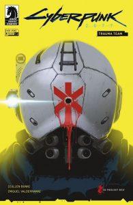 کاور شماره ۱ کمیک Cyberpunk 2077: Trauma Team (برای دیدن سایز کامل روی تصویر کلیک کنید)