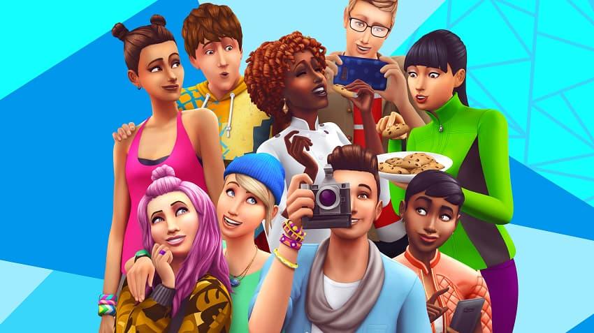 نمایی از The Sims