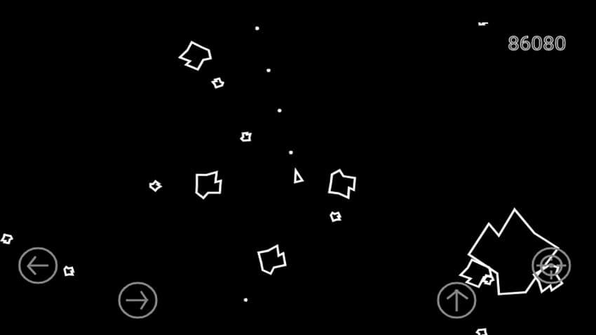 نمایی از Asteroids