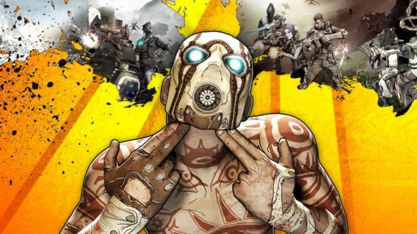 نمایی از بازی ویدیویی Borderlands