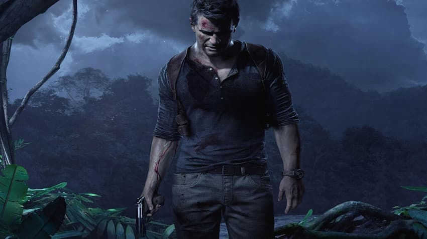 نمایی از بازی ویدیویی Uncharted