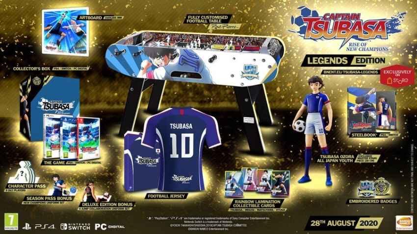 نسخه کالکتور بازی کاپیتان سوباسا Rise Of New Champions رونمایی شد