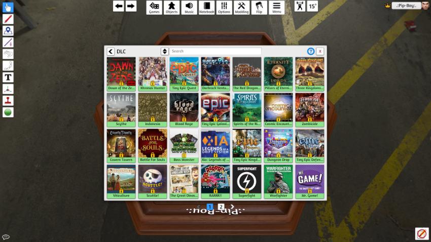 بازی Tabletop Simulator