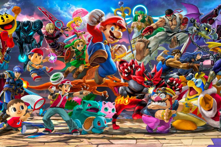 بازی Super Smash Bros