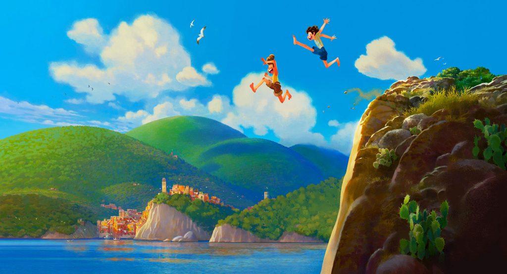 اولین نگاه به انیمیشن Luca (برای دیدن سایز کامل روی تصویر کلیک کنید)