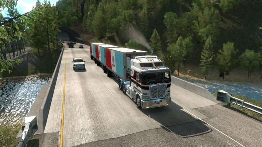 بازی شبیهساز American Truck Simulator