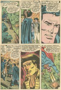 ملاقات بروس وین با جدش، آنتونی وین دیوانه، در شماره ۱۸۷ کمیک World's Finest (برای دیدن سایز کامل روی تصویر کلیک کنید.)