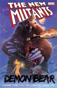 خرس شیطانی روی جلد کمیک The New Mutants (برای دیدن سایز کامل روی تصویر کلیک کنید)
