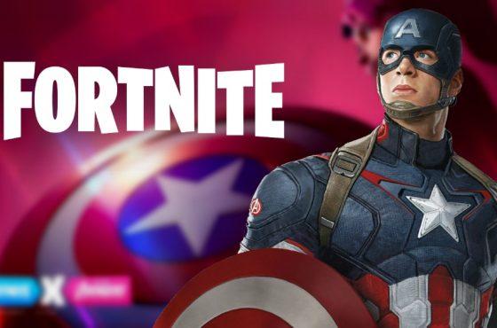 کاپیتان آمریکا هم به جمع شخصیت های فورتنایت اضافه شد [تماشا کنید]