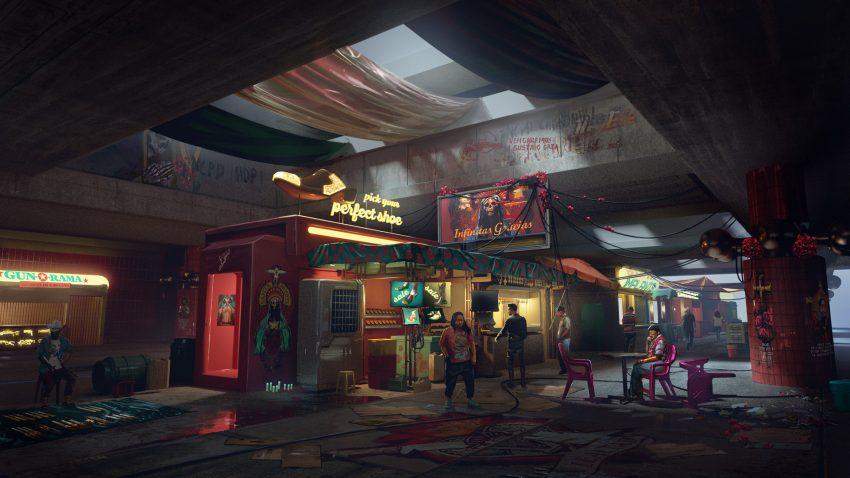 تقابل زندگی مدرن با بدبختی را با منطقه Heywood در Cyberpunk 2077 ببینید