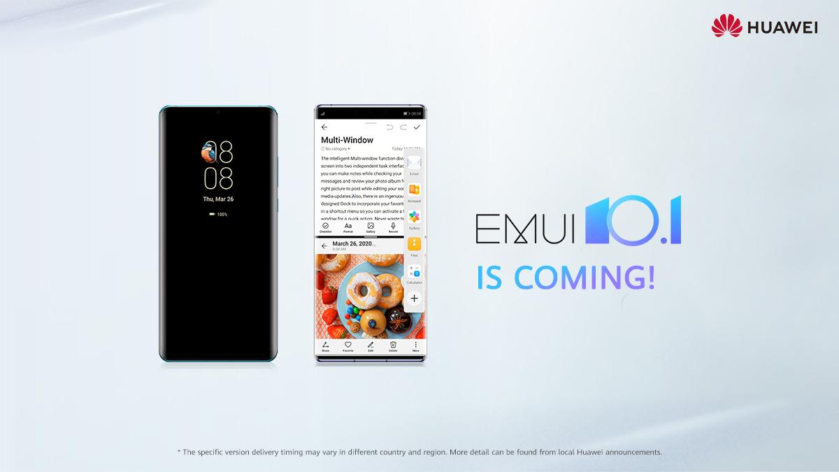 زمانبندی انتشار EMUI 10.1 برای گوشیهای هواوی مشخص شد