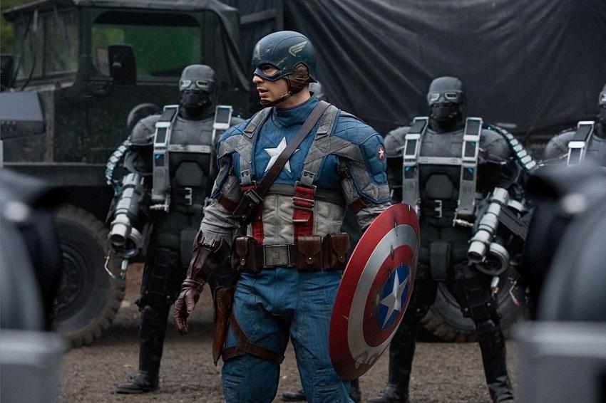 بدترین فیلمهای دنیای سینمایی مارول کاپتان امریکا اولین اونجر