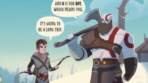 کتاب کودکان God of War به زودی منتشر میشود