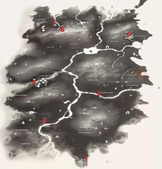 بامبو استرایک های Ghost of Tsushima