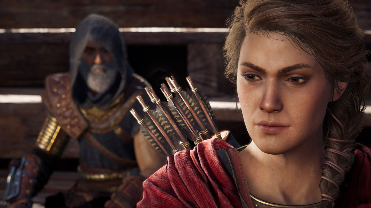 الکسیوس به خاطر آن که «زنان نمیفروشند» به Assassin's Creed Odyssey اضافه شد
