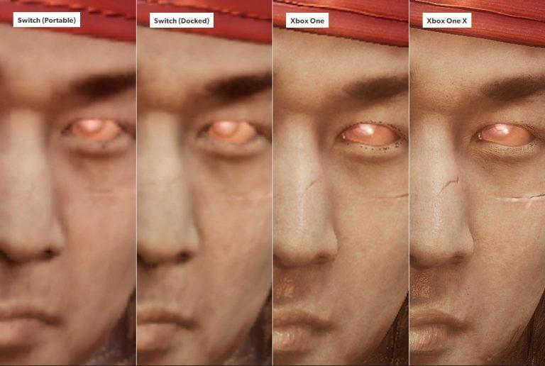 مقایسه Mortal Kombat 11 پورت نینتدو سوییچ