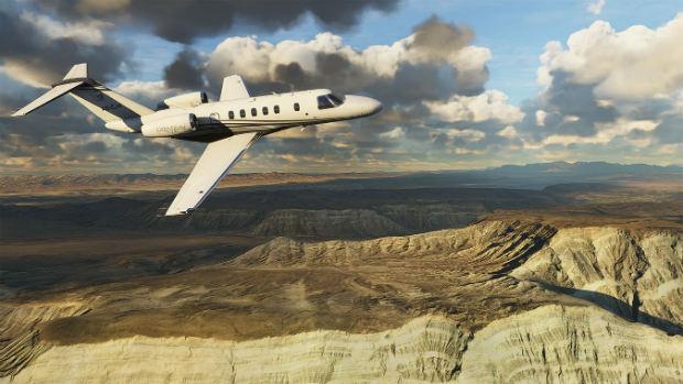 بازی شبیهساز پرواز مایکروسافت