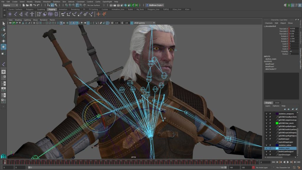 Witcher Game design