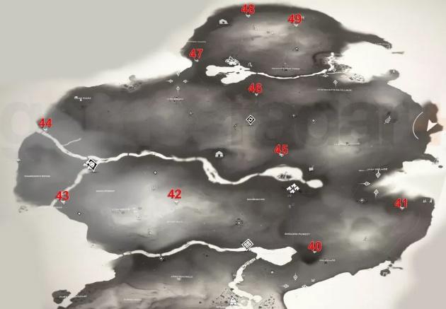 لانه های روباه Ghost of Tsushima