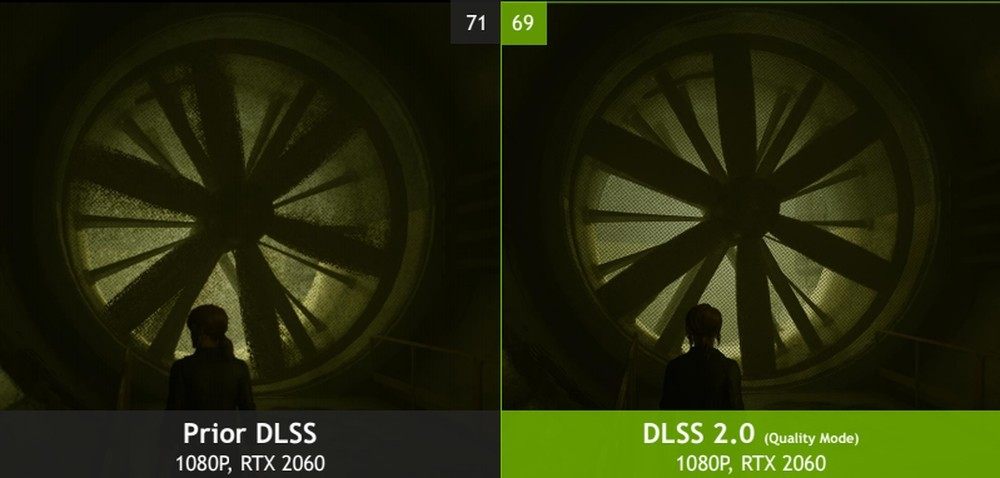 مقایسه عملکرد DLSS نسل اول و دوم انویدیا