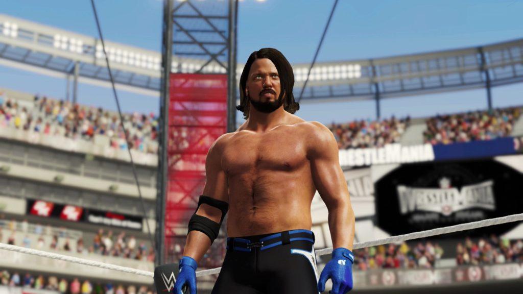تصویری از WWE 2K18 پورت نینتدو سوییچ