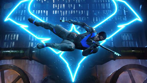 تصویری از نایت وینگ در بازی Gotham Knights