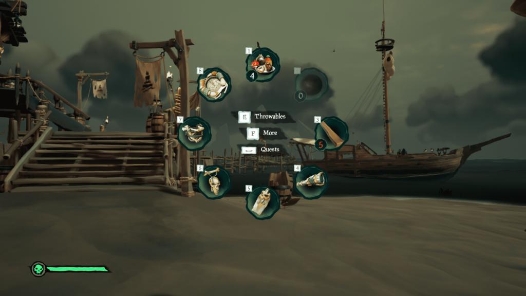 لیست ابزار Sea of Thieves