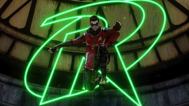 تصویری از رابین (تیم دریک) در تریلر بازی Gotham Knights