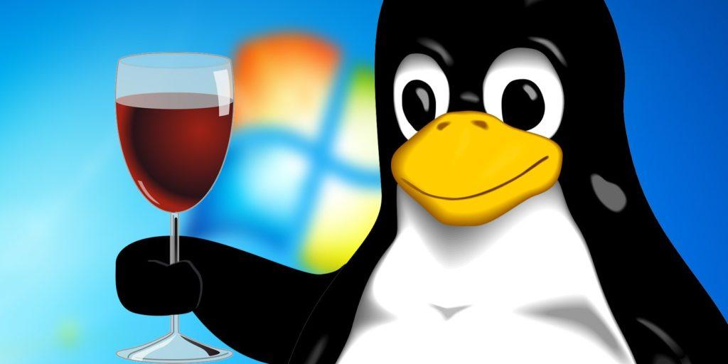 بازی لینوکس - نرم افزار واین