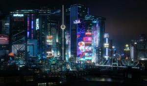یک سایت توریستی برای بازی Cyberpunk 2077 ساخته شده است