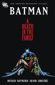 کاور آرک داستانی A Death in the Family (برای دیدن سایز کامل روی تصویر کلیک کنید)