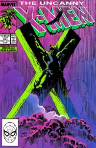 کاور شماره ۲۵۱ کمیک Uncanny X-Men؛ ولورین به صلیب کشیده شده (برای دیدن سایز کامل روی تصویر کلیک کنید)