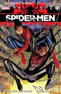 کاور مربوط به خط داستانی Spider-Men (برای دیدن سایز کامل روی تصویر کلیک کنید)