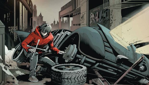 جیسون تاد و دزدیدن چرخها