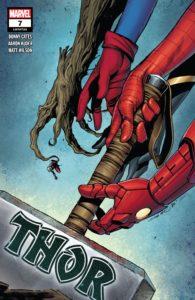 کاور شماره ۷ کمیک Thor (برای دیدن سایز کامل روی تصویر کلیک کنید)