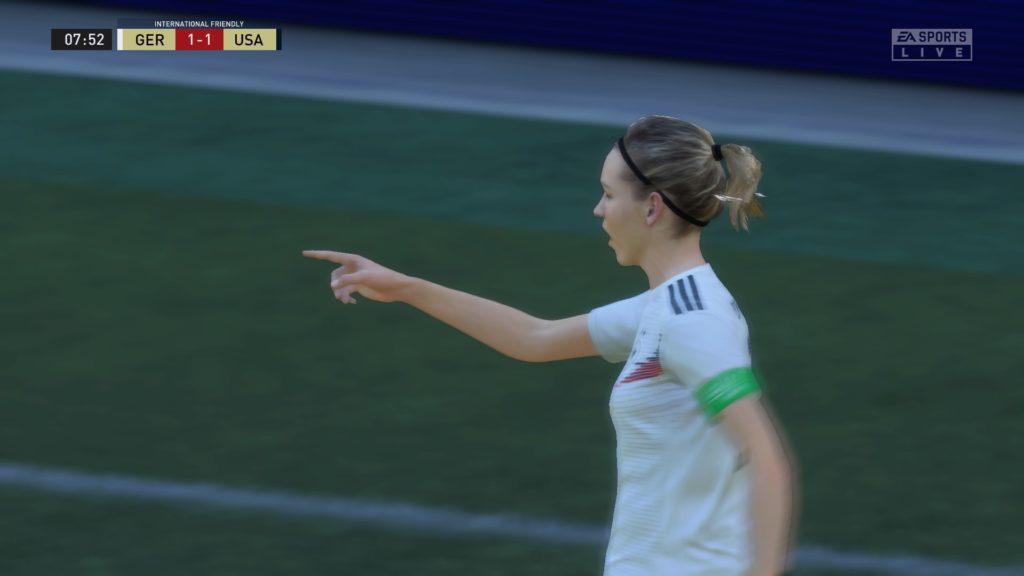 FIFA 21 Offline Match 1 1 GER V USA 1st Half 1024x576 بررسی بازی FIFA 21   پر اشتباه اما دوست داشتنی
