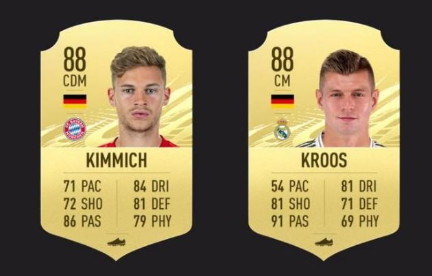هافبک های FIFA 21