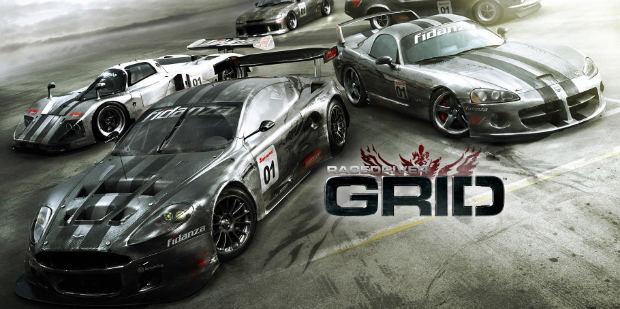 بازی ماشین سواری Grid