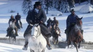 پیدا کردن یک صحنه زیبا بین جان و ابیگل در بازی Red Dead Redemption 2