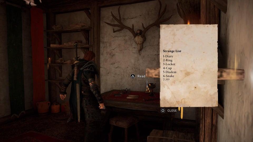 ایستر اگ های Assassin's creed valhalla از دنیای هری پاتر