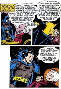 بروس وین هویت خود را به جو چیل لو میددهد (برای دیدن سایز کامل روی تصویر کلیک کنید)