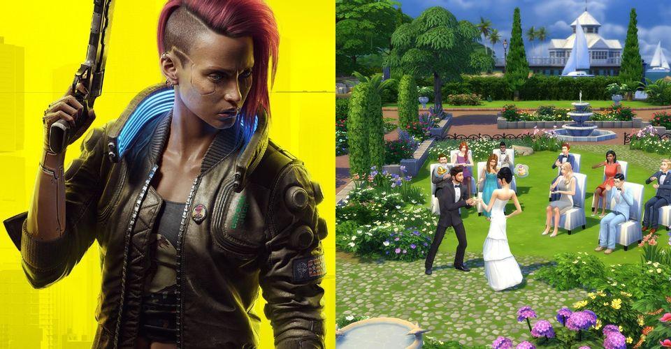 ماد جدید The Sims 4 به شما اجازه میدهد Cyberpunk 2077 را قبل از عرضه بازی تجربه کنید