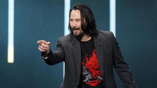 cyberpunk 2077 keanu reeves youre breathtaking e1605345769320 ویجیاتو: آیا به حضور بازیگران هالیوودی در The Game Awards نیازی است؟ اخبار IT