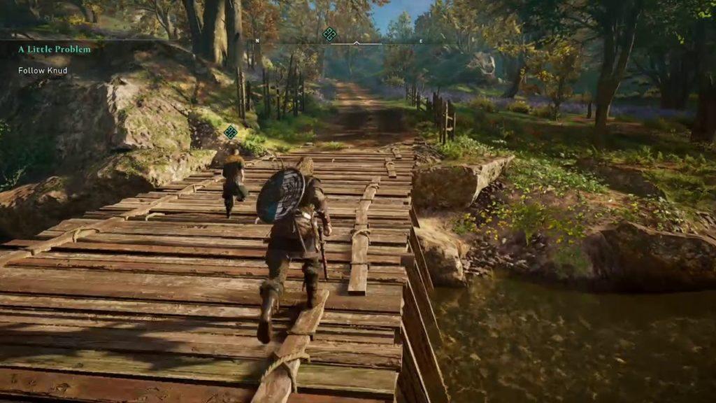راهنمای آنلاک کردن گرگ در Assassin's Creed Valhalla - دنبال کردن Knud