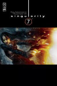 کاور شماره ۱ کمیک Singularity 7 (برای دیدن سایز کامل روی تصویر کلیک کنید)